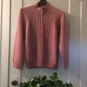 Vintage Cable Knit Sweater Vintage clothing medium